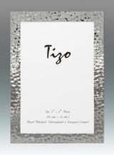 Tizo 5 x 7 Inch Turmoil Silverplated Picture Frame, MPN: 7005-57