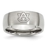 Auburn University Laser Etch Ring in Stainless Steel MPN: SR18AUA-10 UPC: