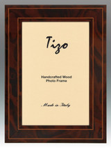 Tizo 5 x 7 Inch Brown Eclipse Wood Picture Frame, MPN: 125BRN-57