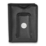 George Washington Unv Blk Leather Money Clip Wallet in Sterling Silver MPN: SS011GWU-W1 UPC: