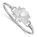 NHL Pittsburh Penguins Bangle in Sterling Silver MPN: SS018PEN-8 UPC: 191101639623