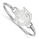 Florida State University Bangle in Sterling Silver MPN: SS021FSU-8 UPC: 883957248219