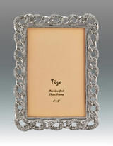 Tizo 4 x 6 Inch Chain of Life Jeweltone Picture Frame, MPN: RS130046