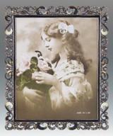 Tizo 8 x 10 Inch Hearts Jeweltone Picture Frame