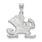 University of Notre Dame Large Pendant in Sterling Silver MPN: SS046UND UPC: