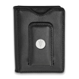 Arizona State Univ Black Leather Money Clip Wallet in Sterling Silver MPN: SS058AZS-W1 UPC: