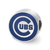 Chicago Cubs Enameled Bead in Sterling Silver MPN: SS500CUB UPC: 634401430670