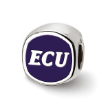 East Carolina U Primary Cushion Shape Bead in Sterling Silver MPN: SS501ECU UPC: 810680029570