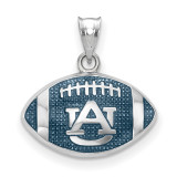 Auburn University Enameled Football Pendant in Sterling Silver MPN: SS508AU UPC: 634401432315