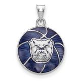Butler Univ. Bulldog Enameled Basketball Pendant in Sterling Silver MPN: SS509BUT UPC: 634401432407
