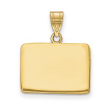 Colorado State Pendant Charm in Gold-plated on Silver MPN: XNA707GP-CO UPC: 886774752389