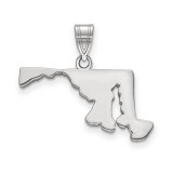 Maryland State Pendant Charm in Sterling Silver MPN: XNA707SS-MD UPC: 886774753027