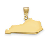 Kentucky State Pendant Charm in 14k Yellow Gold MPN: XNA707Y-KY UPC: 886774753997