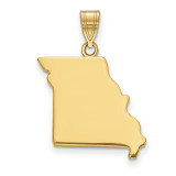 Missouri State Pendant Charm in 14k Yellow Gold MPN: XNA707Y-MO UPC: 886774754062