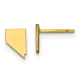 Nevada Small State Earrings in Gold-plated on Silver MPN: XNE50GP-NV UPC: 886774566672
