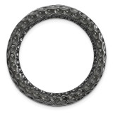 Medium Chain Slide Sterling Silver Black-plated MPN: QSK1732 UPC: 191101474651 by Stackable Expressions