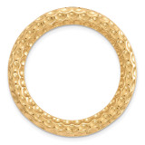 Medium Chain Slide Sterling Silver Gold-tone MPN: QSK1734 UPC: 191101550096 by Stackable Expressions