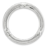 Polished Chain Slide Sterling Silver Medium MPN: QSK1743 UPC: 191101550102 by Stackable Expressions