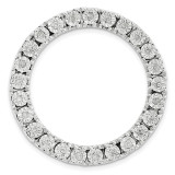 Diamond Chain Slide Sterling Silver Medium MPN: QSK1751 UPC: 191101554865 by Stackable Expressions