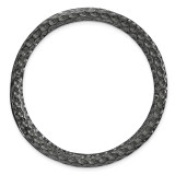 Large Chain Slide Sterling Silver Black-plated MPN: QSK1765 UPC: 191101554353 by Stackable Expressions