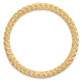 Large Chain Slide Sterling Silver Gold-tone MPN: QSK1767 UPC: 191101551017 by Stackable Expressions