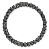 Large Chain Slide Sterling Silver Black-plated MPN: QSK1769 UPC: 191101551512 by Stackable Expressions