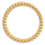 Large Chain Slide Sterling Silver Gold-tone MPN: QSK1771 UPC: 191101549489 by Stackable Expressions