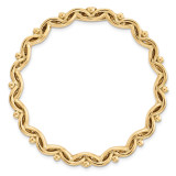 Large Polished Chain Slide Sterling Silver Gold-tone MPN: QSK1775 UPC: 191101551024 by Stackable Expressions