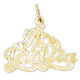 Yiayia Pendant Necklace Charm Bracelet in Gold or Silver MPN: DZ-10575 UPC: 673681050185