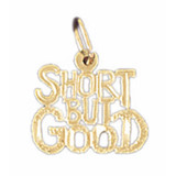 Short But Good Pendant Necklace Charm Bracelet in Gold or Silver MPN: DZ-10665 UPC: 673681051083