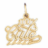 100% Cute Pendant Necklace Charm Bracelet in Gold or Silver MPN: DZ-10696 UPC: 673681051397