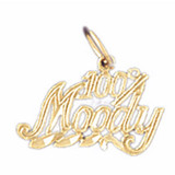 100% Moody Pendant Necklace Charm Bracelet in Gold or Silver MPN: DZ-10698 UPC: 673681051410
