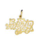 I Love Country Music Pendant Necklace Charm Bracelet in Gold or Silver MPN: DZ-10814 UPC: 673681052547
