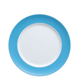 Rosenthal Sunny Day Waterblue Dinner Plate Round 10 1/2 Inch MPN: 10850-408530-10227 UPC: 790955888128
