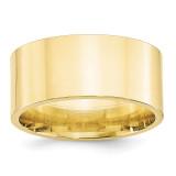 10mm Standard Flat Comfort Fit Band 10k Yellow Gold MPN: 1FLC100 UPC: 886774446578