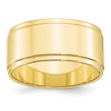 10mm Flat with Step Edge Band 10k Yellow Gold MPN: 1FLE100 UPC: 886774447834