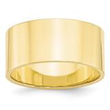 10mm Lightweight Flat Band 10k Yellow Gold MPN: 1FLL100 UPC: 886774448961