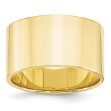 12mm Lightweight Flat Band 10k Yellow Gold MPN: 1FLL120 UPC: 886774449173