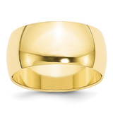 10mm Half Round Band 10k Yellow Gold MPN: 1HR100 UPC: 886774450490
