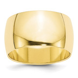 12mm Half Round Band 10k Yellow Gold MPN: 1HR120 UPC: 886774450704