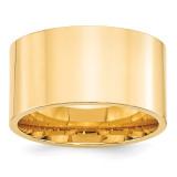 12mm Standard Flat Comfort Fit Band 14k Yellow Gold MPN: FLC120 UPC: 886774479989