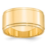 10mm Flat with Step Edge Band 14k Yellow Gold MPN: FLE100 UPC: 886774481036