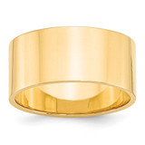 10mm Lightweight Flat Band 14k Yellow Gold MPN: FLL100 UPC: 886774482286