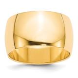 12mm Half Round Band 14k Yellow Gold MPN: HR120 UPC: 886774483900