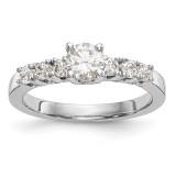 Diamond Engagement Ring 14k White Gold MPN: RM2772E-035-WAA