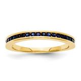 Sapphire Ring 14k Gold MPN: Y12058S UPC: 886774300399