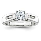Diamond engagement Ring 14k White Gold MPN: Y3340AA UPC: 883957988283
