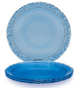 Fire and Light Moonstone Salad Plate 8 3/8 Inch