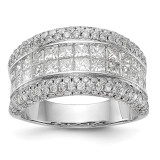 Diamond Ring 14k White Gold MPN: RM3265B-300-WAA