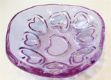 Fire and Light Puka Heart Bowl